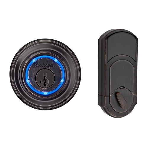 Kwikset 925 Kevo Bluetooth Electronic Deadbolt Lock Venetian Bronze