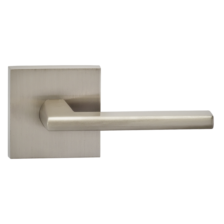 Omnia 925SQ Contemporary Door Lever Set with Square Rose from the ...