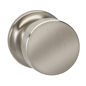 Omnia 935TD Modern Door Knob Set with Traditional Rose