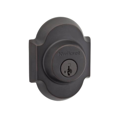 Kwikset Signature Series 980AUD-s SmartKey Grade 2 Single Cylinder Deadbolt