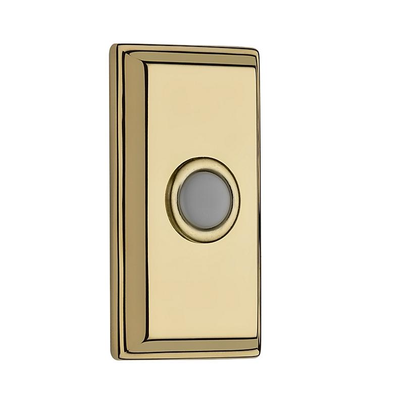 Baldwin Reserve BR7015 Rectangular Bell Button