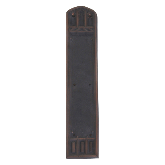 Brass Accents Renaissance Oxford Push Plate