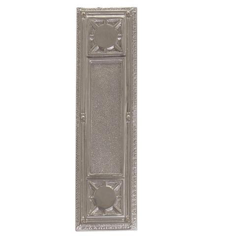 Brass Accents Renaissance Nantucket Push Plate