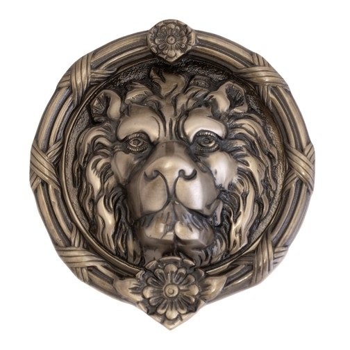 Brass Accents A07-K5100 Leo Lion Knocker