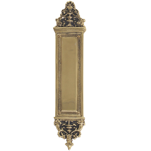 Brass Accents A04 P5230 Renaissance Collection Apollo Push