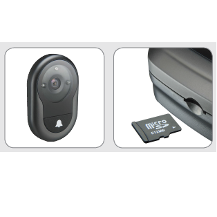 Yale AYRD-DDV7001 Digital Door Viewer with Live Video and Sim Card