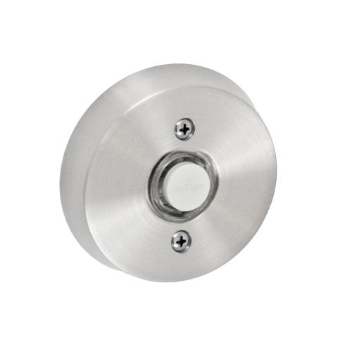 Fusion B-EL-A8 Beveled Round Doorbell Brushed Nickel (BRN)