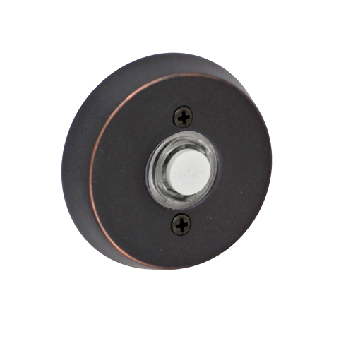 Fusion B-EL-A8 Beveled Round Doorbell Oil Rubbed Bronze (ORB)