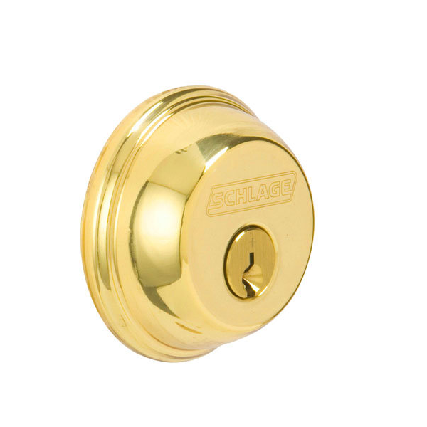 Schlage B62 505 Lifetime Bright Brass