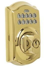 Schlage BE365-CAM 505 Polished Brass