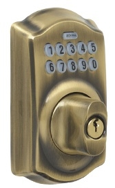 Schlage Be365 Cam Camelot Electronic Keypad Deadbolt Low