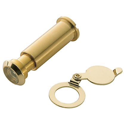 Charming Front Door Knockers With Peephole #3: Baldwin%200155%20Door%20Viewer%20in%20Polished%20Brass%20(030).png