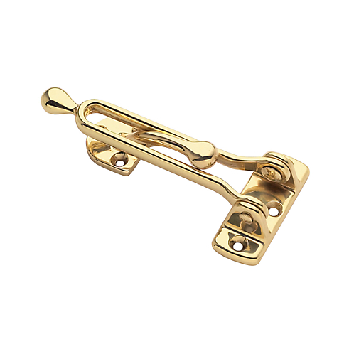 Baldwin 0250 Security Door Guard in Polished Brass (030)