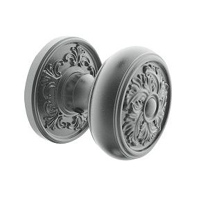 Baldwin Estate K005 Knob Set Distressed Antique Nickel (452)