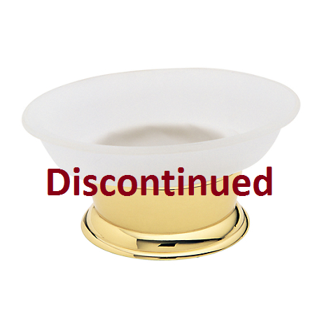 Baldwin Vanity Soap Dish Polished Brass (030)