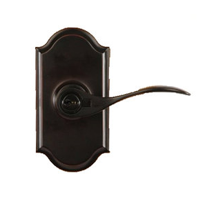 Weslock 1740U Bordeau Keyed Entry with Premiere Rose Oil Rubbed Bronze