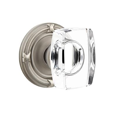 Emtek Windsor Crystal Door Knob Set Low Price Door Knobs