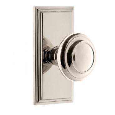 Grandeur Circulaire Door Knob Set With Choice Of Arc Or