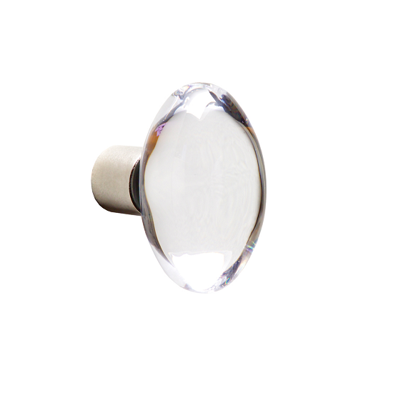 Rocky Mountain CK150 Oval Crystal Cabinet Knob