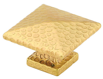 Emtek Brass Square Dimpled Cabinet Knob 86038, 86039, 86212