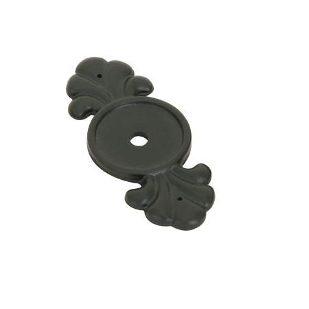Emtek 86234 Tuscany Bronze Knob Backplate Flat Black Patina (FB)