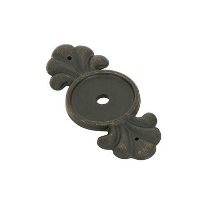 Emtek 86234 Tuscany Bronze Knob Backplate Medium Bronze Patina (MB)