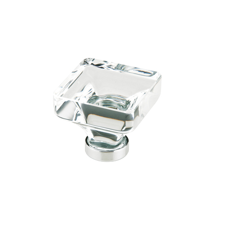 square glass cabinet knobs. Emtek 86403, 86404 Lido Cabinet Knob Square Glass Knobs Low Price Door