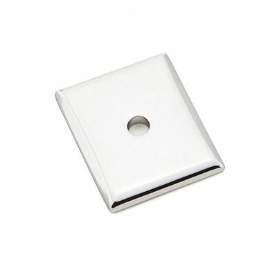 Emtek 86420 Neos Backplate For Knob Polished Chrome (US26)
