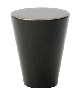 Emtek Brass Cone Cabinet Knob 86261, 86262