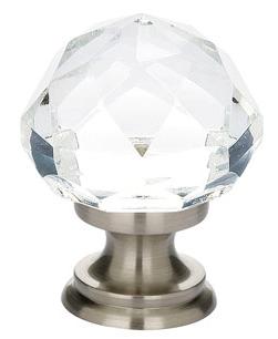 Emtek Diamond 86003, 86012 Cabinet Knob Satin Nickel (US15)