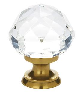 Emtek 86003, 86012 Diamond Cabinet Knob French Antique (US7)
