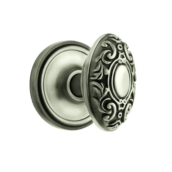 Nostalgic Warehouse Victorian Knob Privacy Mortise with Classic Rose AP