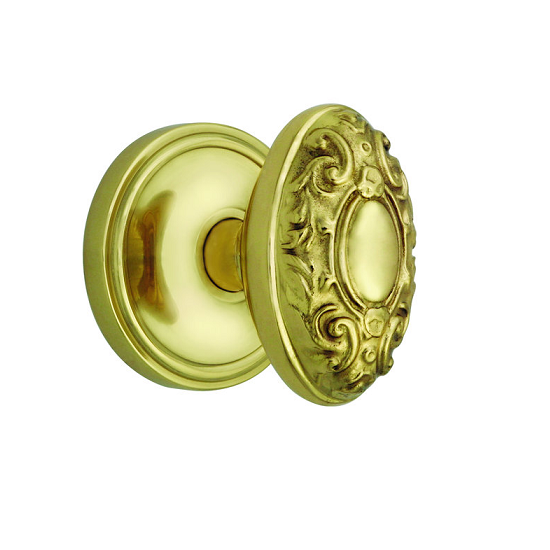 Nostalgic Warehouse Victorian with Classic Rose Polished Brass