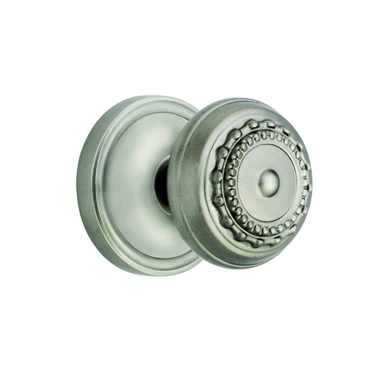 Nostalgic Warehouse Meadows Knob with Classic Rose Satin Nickel