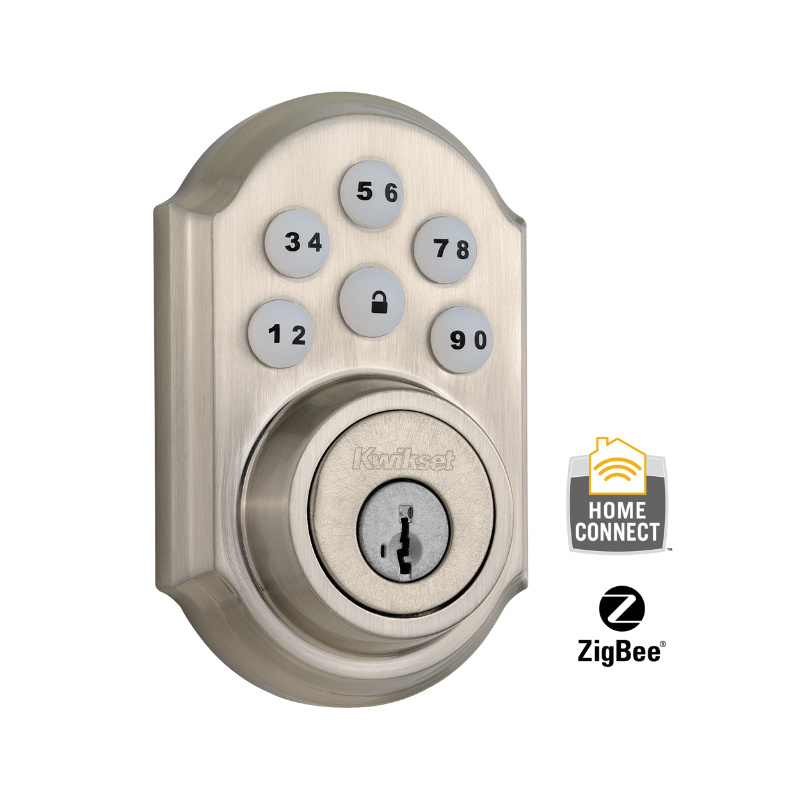 Kwikset CP910TRLZW-15s Smartcode Electronic Deadbolt with Z-Wave Technology
