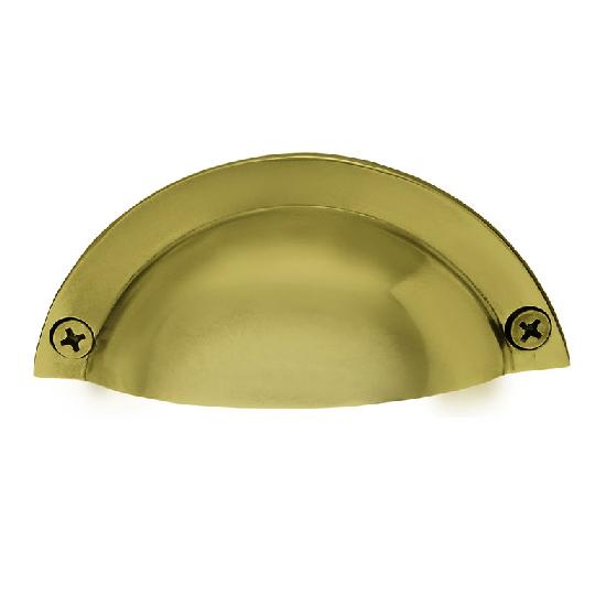 Nostalgic Warehouse Brass Bin Pull Polished Brass (PB)