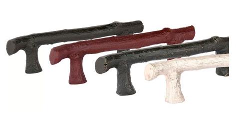 Emtek Sandcast Bronze Twig Cabinet Pull 86061, 86062, 86063, 86252