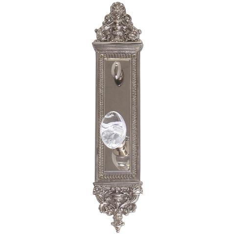 Brass Accents Renaissance Collection Apollo Deadbolt Plate (3-5/8