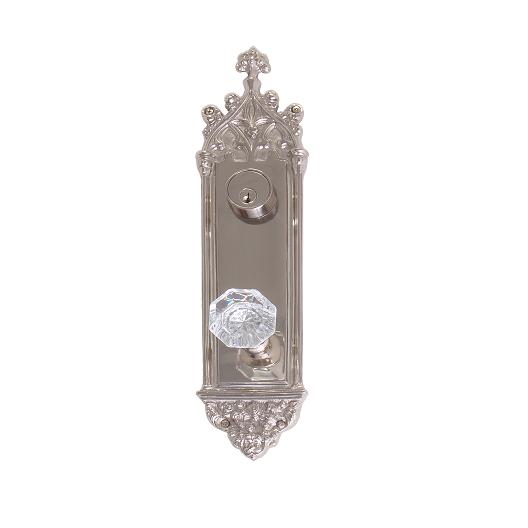 Brass Accents Renaissance Collection Gothic Deadbolt Plate