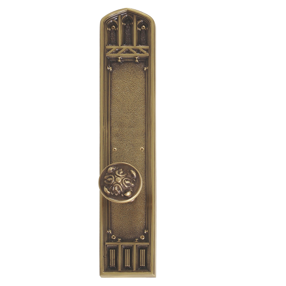 Brass Accents Renaissance Collection Oxford Plate