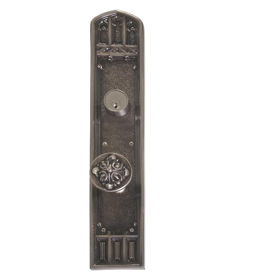 Brass Accents Renaissance Collection Oxford Deadbolt Plate (3-3/8