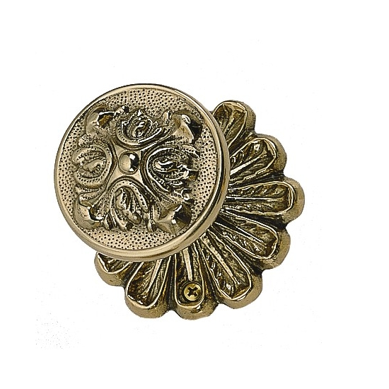 Brass Accents Maltesia Rosette with choice of knob o