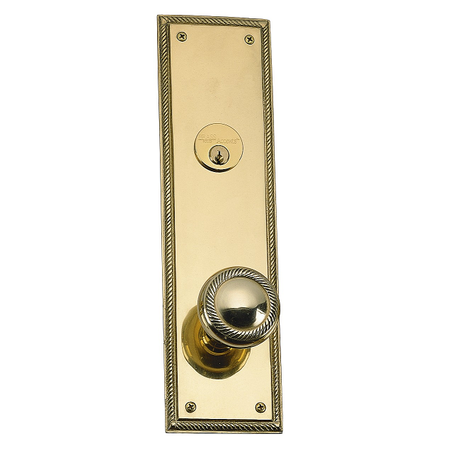 Brass Accents D06 K240 Academy Collection Deadbolt Plate