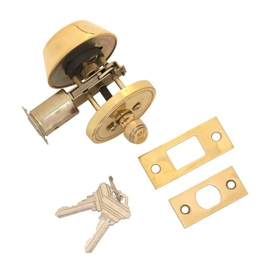 Brass Accents D09-D1510, D09-D1520 Deadbolt