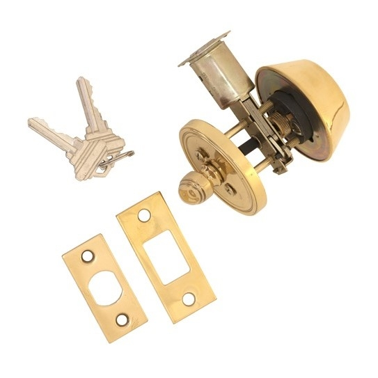 Brass Accents Deadbolt D09-D0050, D09-D0060