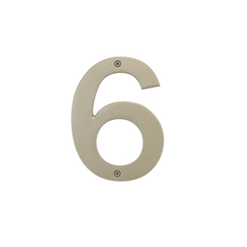 Emtek Bronze House Numbers 4 Quot Or 6 Quot Low Price Door Knobs
