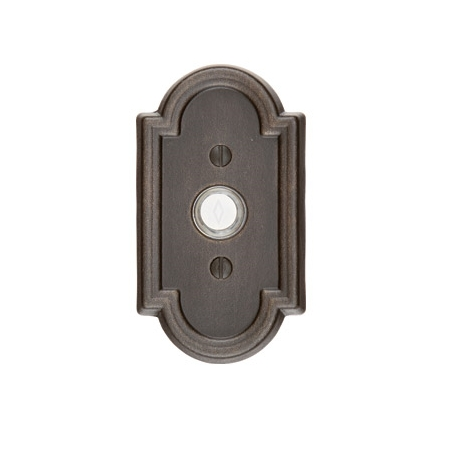 Emtek 2411 Door Bell Button w/#11 Medium Bronze Patina (MB)
