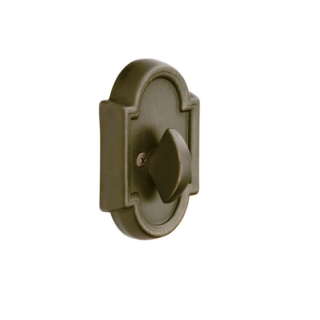 Emtek 8572 #11 Style Single Sided Deadbolt Medium Bronze (MB)