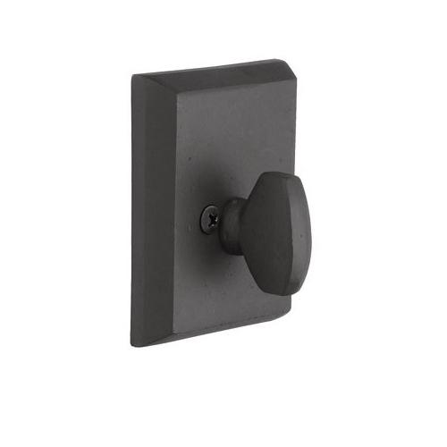 Emtek 8565 #3 Style Single Sided Deadbolt Flat Black Patina (FB)