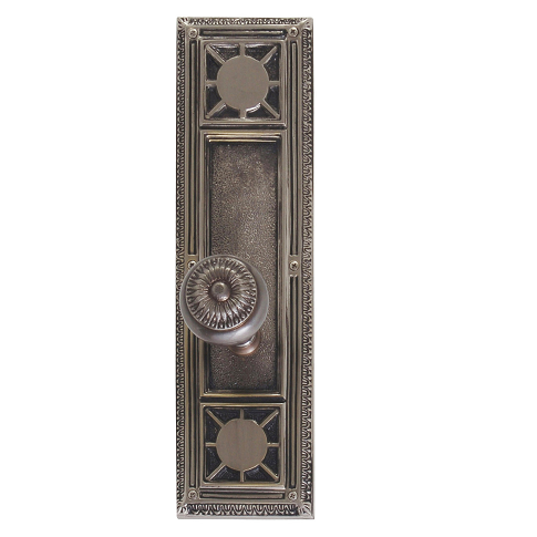 Brass Accents Renaissance Collection Nantucket Plate